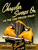 ADVERT CHRYSLER ROYAL AUTOMOBILE CAR IMPERIAL USA VINTAGE POSTER PRINT 12x16 inch 30x40cm 798PY