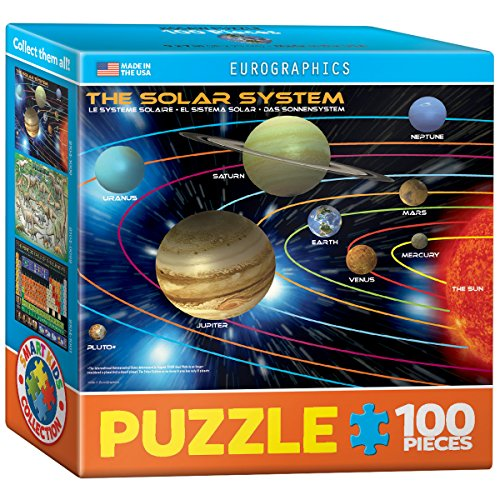EuroGraphics Planets Mini Puzzle (100-Piece) - 1