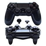 Pandaren FPS Ultra-ARMOR GEAR case cover for PS4 /SLIM /PRO/Playstation 4 controller (Black) (Color: Black, Tamaño: PS4/PS4 Slim/PS4 Pro Controller Case)