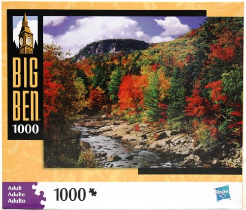 Cheap MILTON BRADLEY Big Ben 1000 Piece Puzzle – Autumn Leaves (B004PZS9AE)