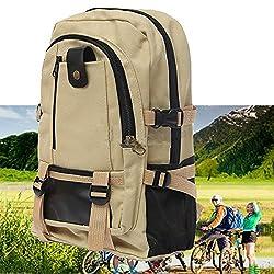 Outdoor Camping Traveling Hiking Backpack Rucksack Canvas Bag