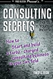 img - for Consulting Secrets to Triple Your Income: How to Start and Build a Turbo-Charged Consulting Business In Your Own Field book / textbook / text book