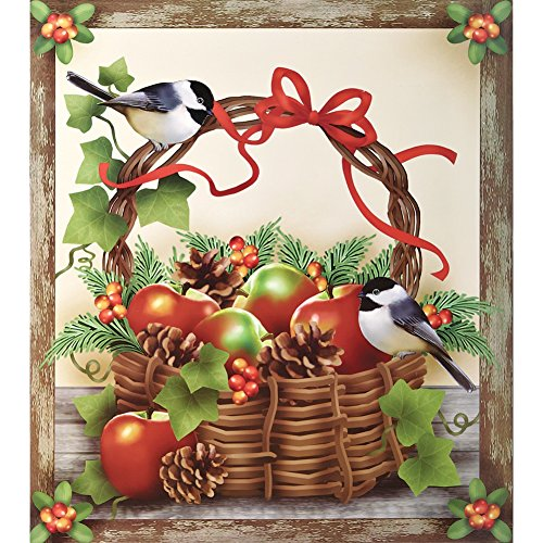 Chickadee Dishwasher Magnet Cover