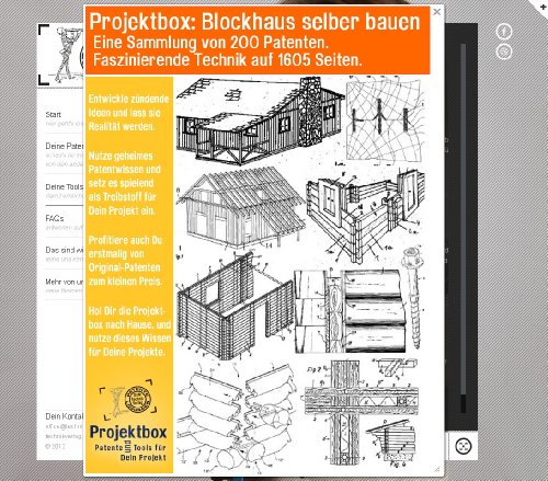 blockhaus selber bauen deine projektbox inkl 200 original patenten bringt dich mit spa ans ziel. Black Bedroom Furniture Sets. Home Design Ideas