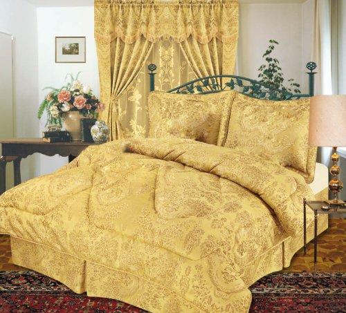 Emperor 4-Piece Jacquard Comforter Set