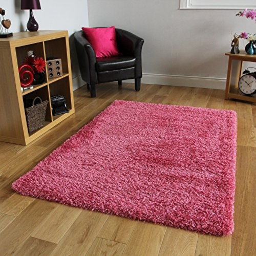 bright-pink-super-soft-luxury-shaggy-rug-5-sizes-available-80cmx150cm-2ft7-x-4ft11