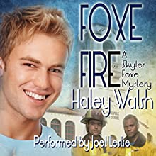 Foxe Fire Audiobook by Haley Walsh Narrated by Joel Leslie