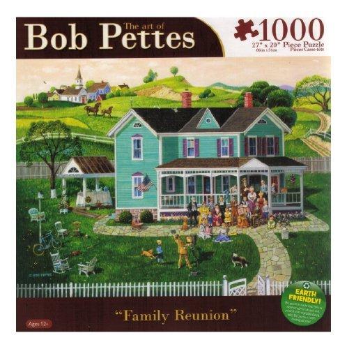 Bob Pettes - Family Reunion - 1000 Pc Puzzle - 1