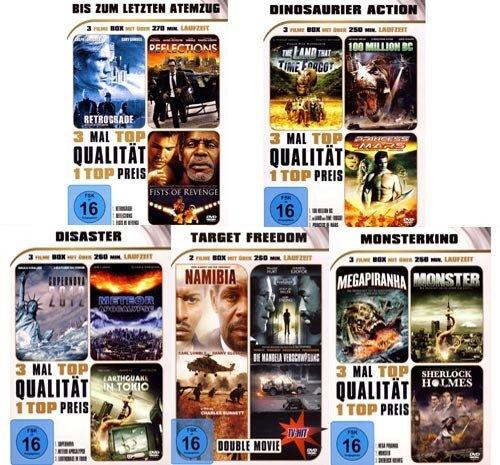ACTION PUR POLSITION - 14 Filme die Ihren Atem stehen lassen werden [5 DVDs]