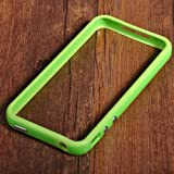 Original New Style Iphone 5/5s Hybrid TPU PC Bumper Frame Case Cover Silicon Bumper Green by TB1 Products ®