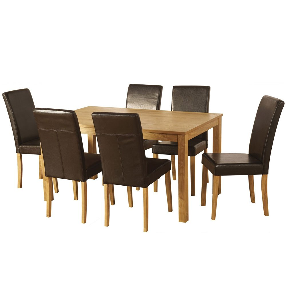Seconique Ashbourne 6 Seat Dining Set       Customer reviews