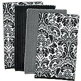 DII 100% Cotton, Machine Washable, Everyday Kitchen Basic Dish Towel Combo Gift, Set of 5 - Malibu