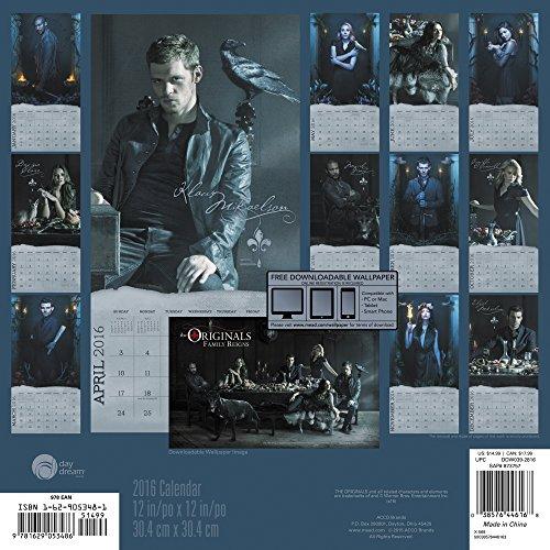 The Originals 2016 Calendar