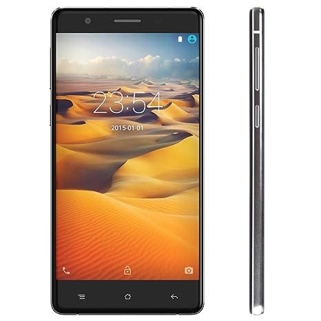 "Cubot S550 - 4G Smartphone Android 5.1 OS, MTK6735 2GB RAM 16GB ROM, 64 bits Quad Core, 8MP 13МP Double Caméras, 5.5"" IPS OGS Screen, Soutien de Reconnaissance d'Empreintes Digitales"
