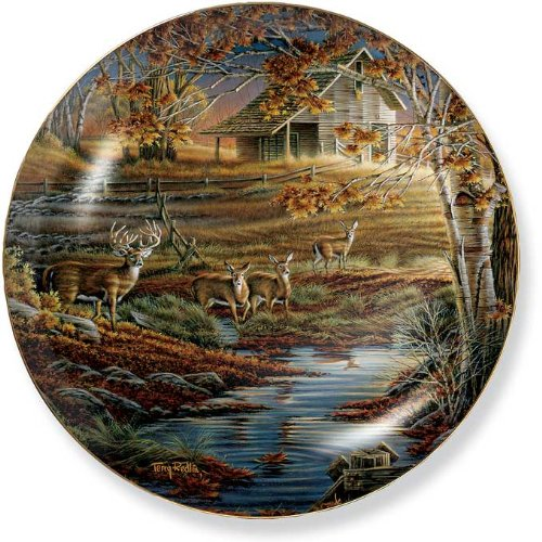 Nature's Sentinel by Terry Redlin 8.25 inch Decorative Collector Plate