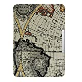 Amazon Kindle Paperwhite Case Cover -- Retro worldwide map pattern PU leather Case Cover for Kindle Paperwhite (Both 2012 and 2013 versions with 6 Display and Built-in Light)