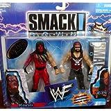KANE vs. X-PAC WWE WWF Exclusive Smackdown 2packs Figures