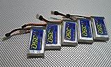 ワルケラ用 リポバッテリー ( 3.7V-350mAh-30C ) ×5個 WALKERA