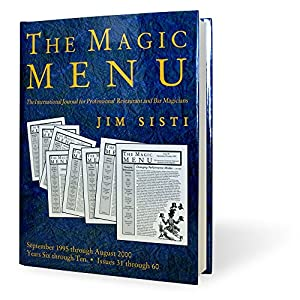 MMS Magic Menu Book (Years 6-10)