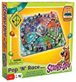Pressman Scooby Doo Pop-n-Race Board Game