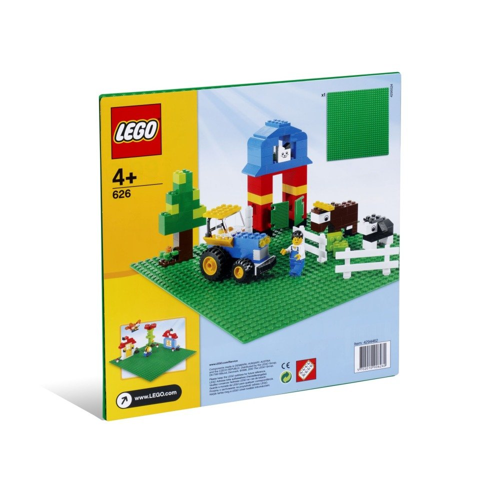 LEGO Green Building Plate 10inch x 10inch