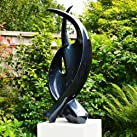Modern Tranquility Abstract Garden Sculpture - Large Statues