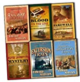 Edward Marston Edward Marston Railway Detective 6 Books Collection Pack Set RRP: £74.82 Stationmaster's Farewell, The, Blood on the Line, The Excursion Train, The Railway Detective, The Silver Locomotive Mystery , Murder on the Brighton Express