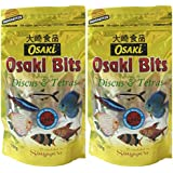 OSAKI BITS Especially For Discus & Tetras Fish - 100gm Pack Of 2 *** Imported From Singapore***
