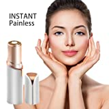 Painless Hair Remover for women's face arm leg portable travel size