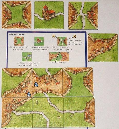 Imagen 6 de [Import Anglais]Carcassonne Expansion 1 Inns & Cathedrals