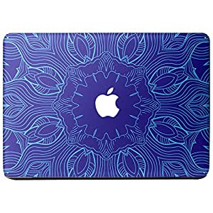 Wonderskins WSPro_15inch_0056 Macbook Pro 15inch Vinyl Skin with Apple Logo and Round Edges Cutout