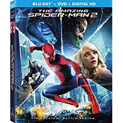 The Amazing Spider-Man 2 [Blu-ray/DVD/UltraViolet Combo Pack]