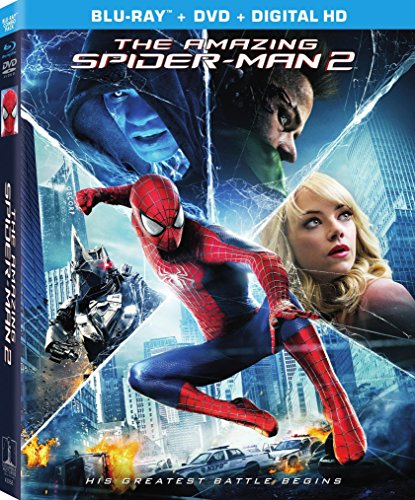 61OHzsE5PNL The Amazing Spider Man 2 (Blu ray/DVD/UltraViolet Combo Pack)