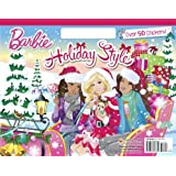 Holiday Style (Barbie) (Big Coloring Book)