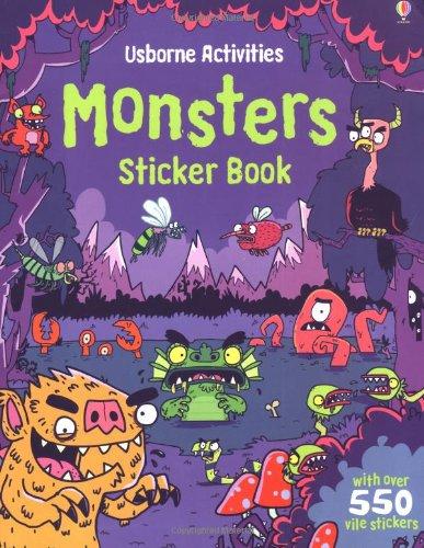 Monsters Sticker Book (Usborne Sticker Books)