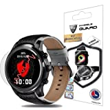 For LEMFO LEM5 SmartWatch Screen Protector (2 Units) Invisible Ultra HD Clear Film Anti Scratch Skin Guard - Smooth / Self-Healing / Bubble -Free By IPG (Color: Clear)