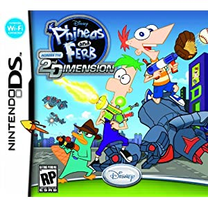 Phineas and Ferb: Across the 2nd Dimension Video Game for Nintendo DS