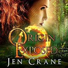 Origin Exposed: Descended of Dragons, Book 2 Audiobook by Jen Crane Narrated by Dara Rosenberg