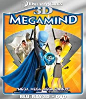 Megamind (Two-Disc Blu-ray 3D/DVD Combo) by DreamWorks
