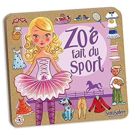 Creation Vd - 291 - Jeu de Société - Zoe Fait du Sport
