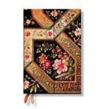 Filigree Floral Ebony - Paperblanks 2014 Daily Planner (Mini 4.5 x 5.5 Day per Page)