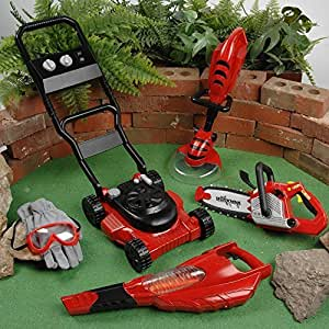 Cp toys 6 pc child size power gardening tools for Gardening tools 94 game