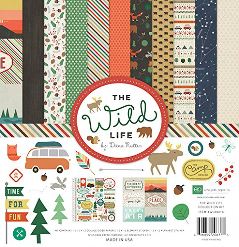 Echo Park Paper Company The Wild Life Collection Kit