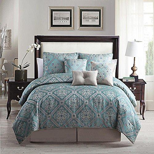 luxury-home-7-piece-albertson-print-comforter-set-teal-king