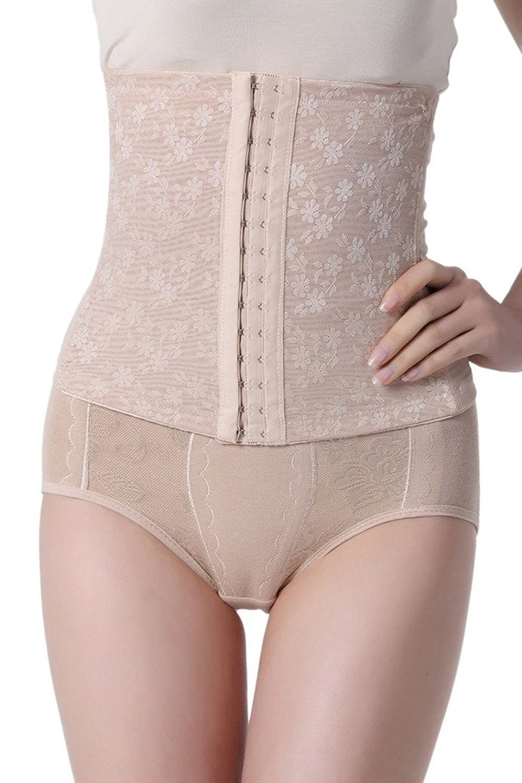 Bigood Damen Korsettgürtel Figurenformend Miederpants Body Figur-Body Bodyshaper bestellen