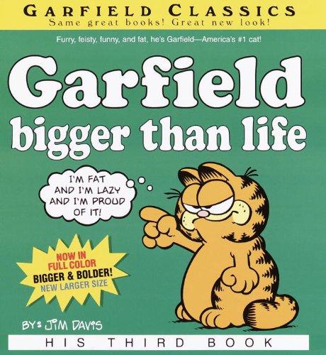 Garfield, Bigger Than Life (Turtleback School & Library