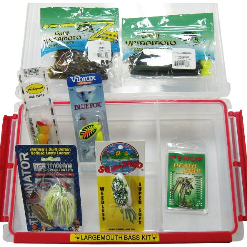 Largemouth Bass Kit in Plano Tackle Box