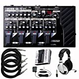 Boss ME70 Guitar Multi-Effects Pedal Package wtih Boss PSA120 Power Supply, FS5U Foot Switch, Headphones, Cables