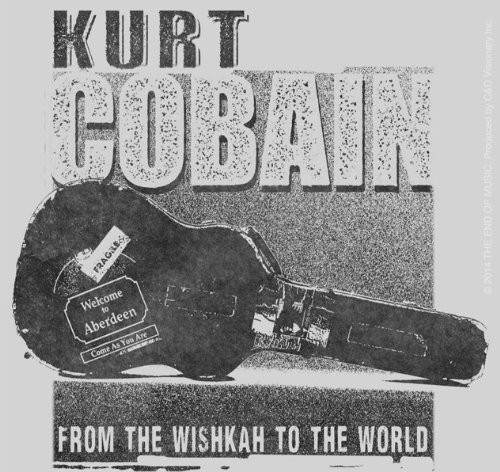 Licenses Products Kurt Cobain Guitar Case Sticker