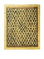 CarpeTrade Alfombra Deluxe Persian Vintage (Amarillo/Multicolor)